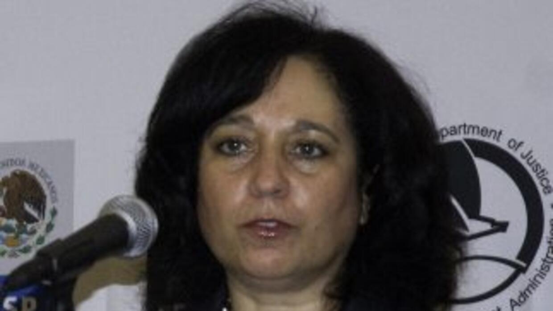 La administradora de la Agencia Antinarcóticos de Estados Unidos, Michel...