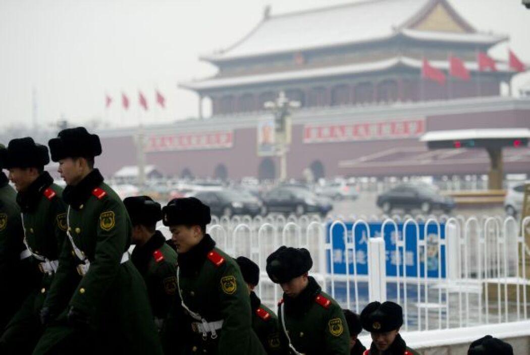 La ola de frío que azota estos días la mayor parte de China ha provocado...