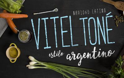 """Vitel toné - El Recetario """"Navidad latina"""" #ComoEnCasa"""