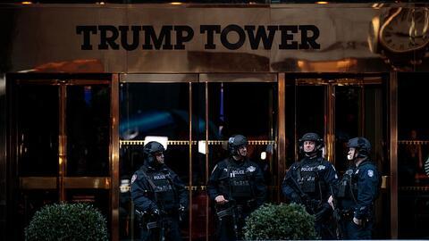 Miembros del Departamento de la Policía de la ciudad de Nueva Yor...