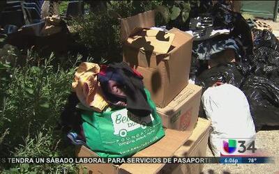 Repartieron comida y productos de primera necesidad