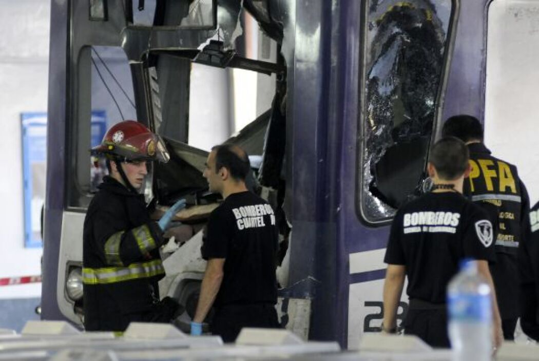 Varios pasajeros que venían en el tren advirtieron que desde las estacio...