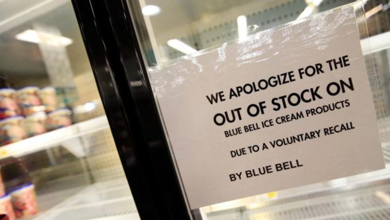 Tras una investigación, la FDA reportó que Blue Bell ya había detectado...
