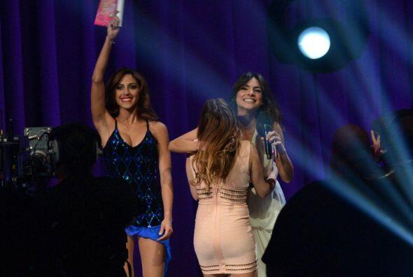 Por su parte, Gabriela Álvarez estaba tan contenta, que por un momento q...