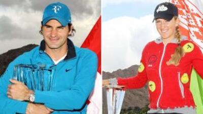 Arranca Indian Wells el 7 de febrero y Roger Federer y Victoria Azarenka...