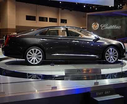 Cadillac Platinum XTS ConceptGran parte de la historia se encuentra deba...