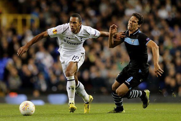 Un partido del que se esperaba mucho entre Tottenham y Lazio acabó con u...