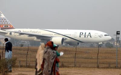 Imagen de archivo de un avión de la compañía a&eacu...