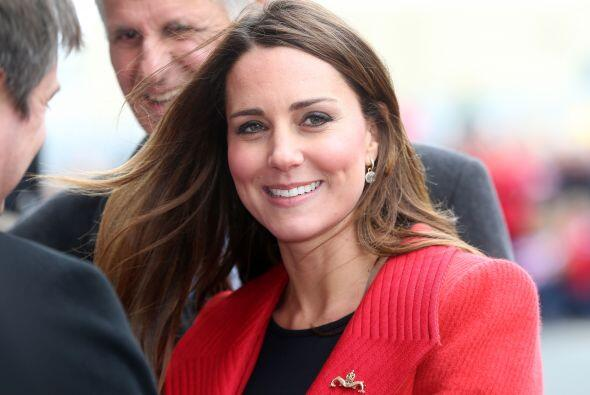 Kate Middleton, oficialmente Catherine, duquesa de Cambridge, se ha conv...