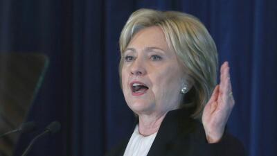 Hillary Clinton celebra el resultados de elecciones en Venezuela