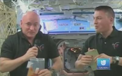 Astronautas también celebran Acción de Gracias