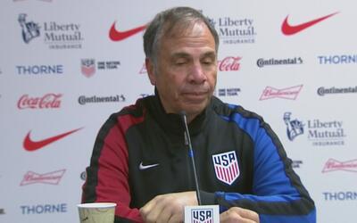 "Bruce Arena sobre el empate del Team USA: ""Estamos tratando de unir al e..."