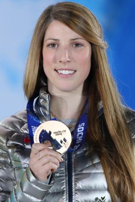 La estadounidense Erin Hamlin ganó bronce en la prueba de Luge. A sus 27...