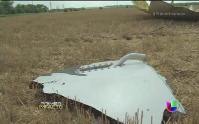Los restos del avión llegan a Ucrania