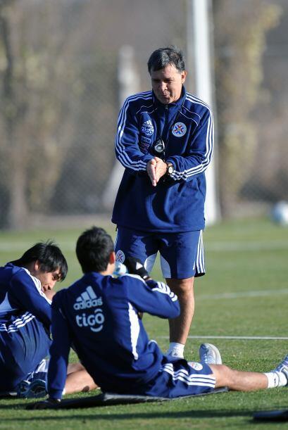 En la Copa América 2011 Paraguay no tuvo una primera fase muy brillante...