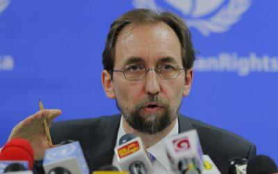 Zeid Ra'ad al-Hussein, alto comisionado de Naciones Unidas para los Dere...
