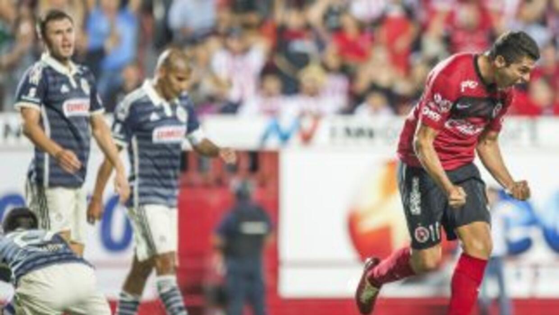 Henry Martin hizo el único gol del partido.