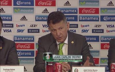 """Juan Carlos Osorio: """"Vamos a luchar por llegar a la Final de la Copa Amé..."""