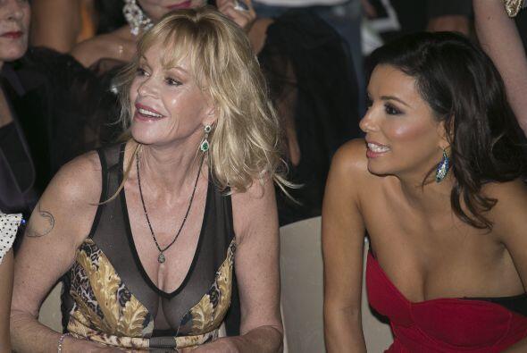 Las actrices fueron las invitadas especiales de un festival de cine.