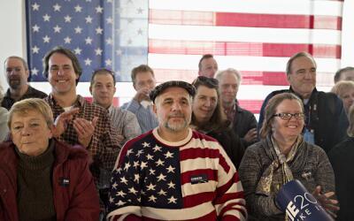 Evento político en New Hampshire