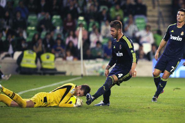 El cuadro sevillano hizo un gran partido ante el Real Madrid y este arqu...