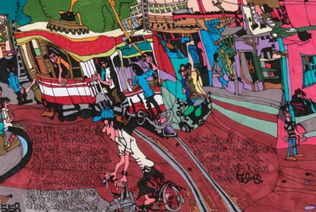 "Shawn Belanger, ""Streetcar in Hanoi""  -""Drawing Autism""es una increíbl..."