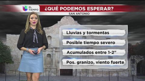 San Antonio en vigilancia por tiempo severo