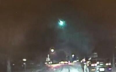 'Chicago en un Minuto': Un meteorito ilumina el cielo de la ciudad