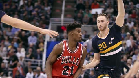 Hayward y el Jazz no pudieron contener a Butler.