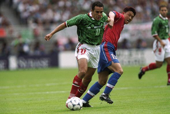 En la Copa del Mundo de Francia 1998, México se ubicó en e...