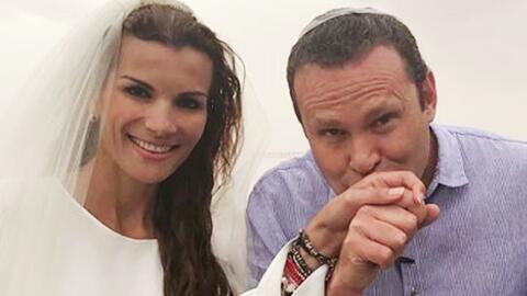 Alan Tacher recreó una tradicional boda judía junto a su esposa Cristy B...