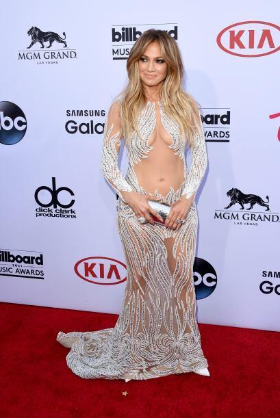 Jennifer Lopez llegó despampanante a la ceremonia. Este fue uno de los m...