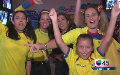 La porra ecuatoriana no se rindió