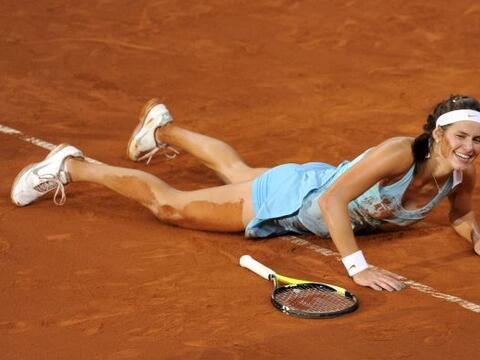 Con 22 años de edad, esta hermosa tenista ocupa actualmente la po...