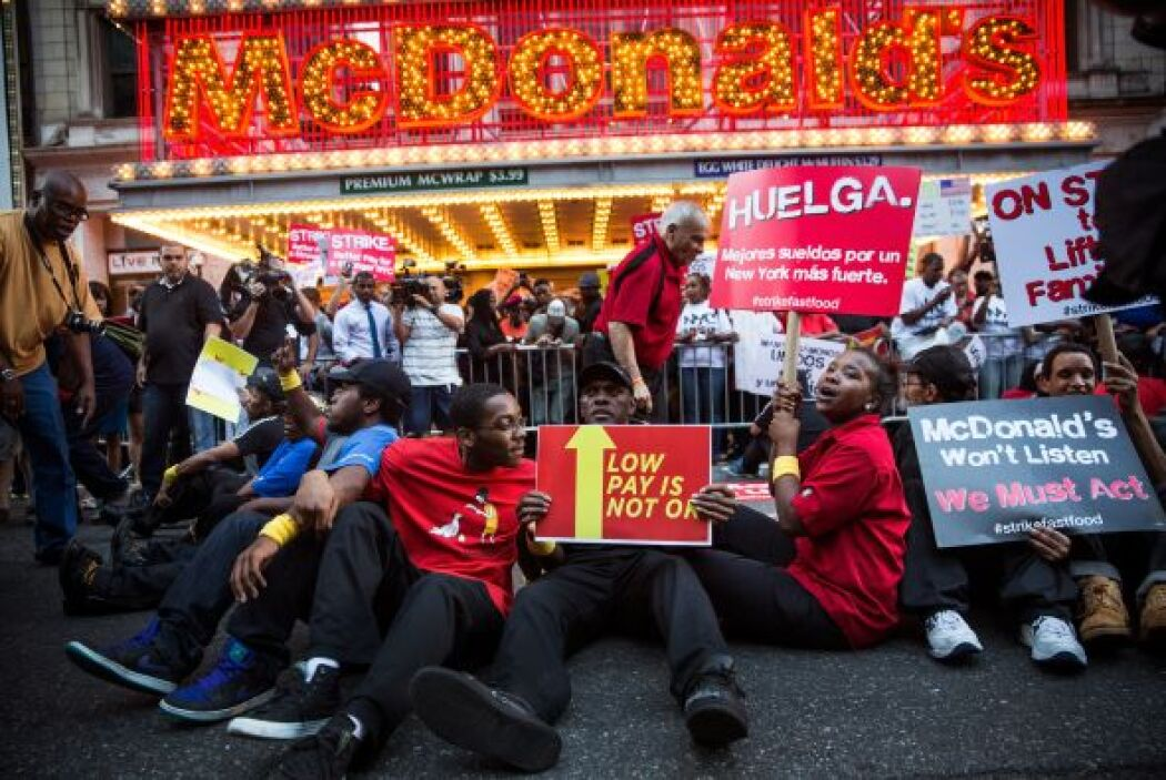 En Nueva York fue donde en 2012 inició el movimiento por aumentar el sal...