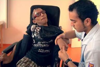 Un pelotazo en la cabeza le cambió la vida a Carlos Rosado