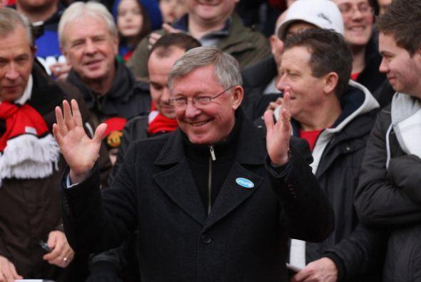 'Sir Alex' lleva 25 años al mando del 'Man-U'.
