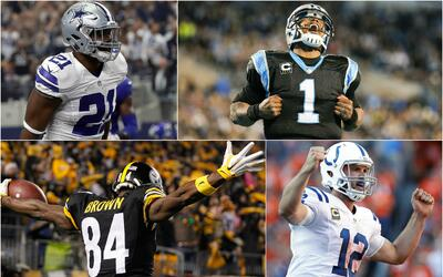 Cowboys, Panthers, Steelers y Colts tendrán victorias en la Seman...