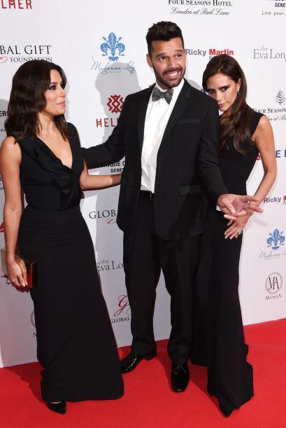 Victoria Beckham fue galardonada con un premio debido a su labor humanit...