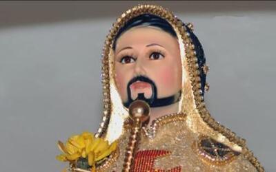 """El culto al """"Chayo"""" crece en Michoacán"""