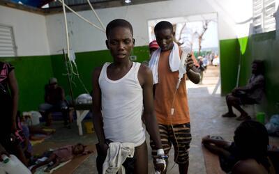 Crisis humanitaria en Haití tras el paso de Matthew