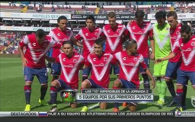 Las 10 imperdibles de la jornada 2 de la Liga MX