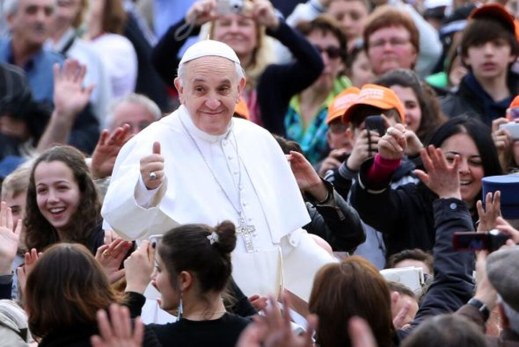La misa de inauguración del pontificado del papa Francisco se realizó el...