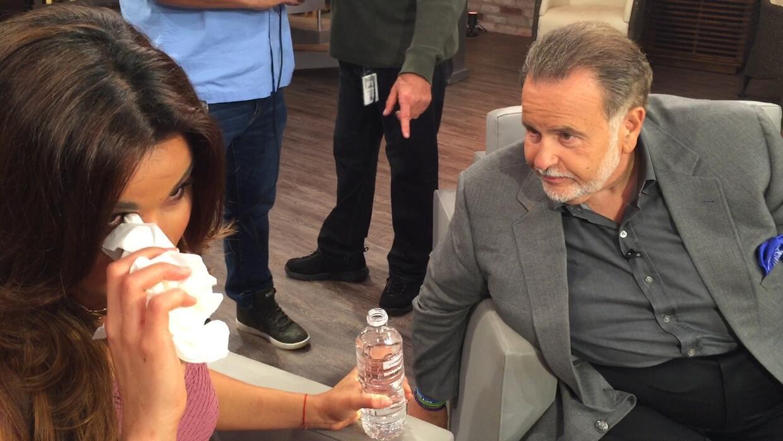 Raúl se emocionó al escuchar la historia de Clarissa y confesó lo orgull...