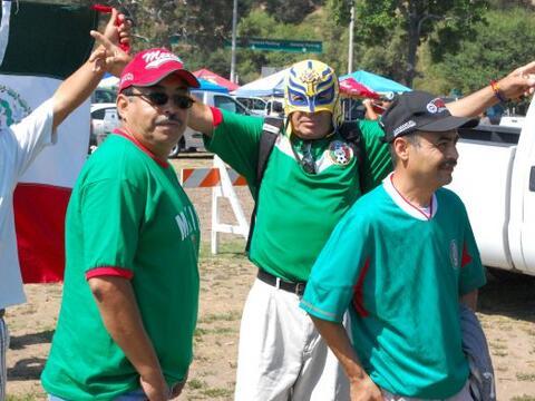 El público de la Selección Mexicana se hizo sentir en las...