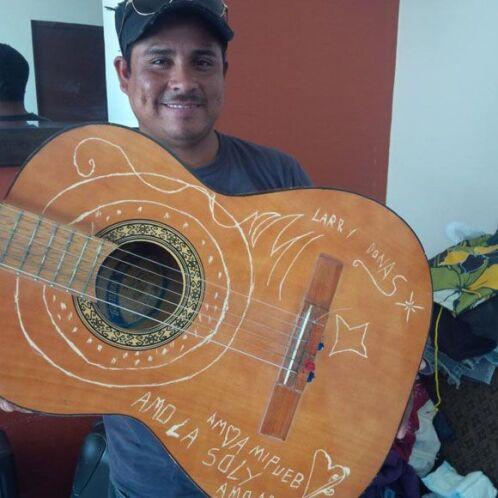 A Larry Donas la música le ha gustado desde pequeño.