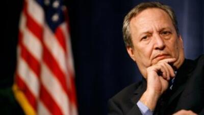 """Summers afirmó que """"la probabilidad de que la economía vuelva a caer en..."""