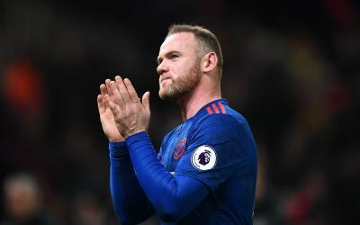 Wayne Rooney celebra un gol con Manchester United
