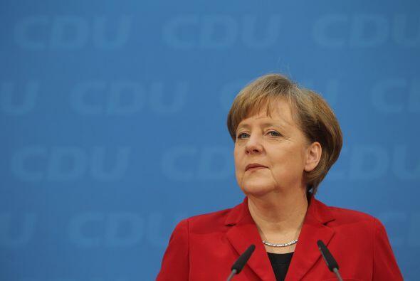 Otra figura destacada es la canciller alemana,  Angela Merkel.