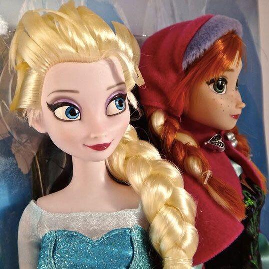 Princesas de Frozen. Anna y Elsa, las princesas de la película de...